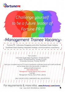 Poster Management Trainee Job Vacancy2
