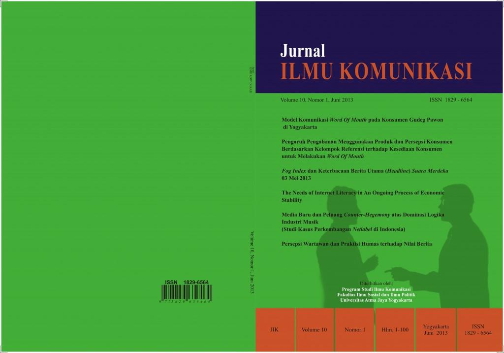 Cover JIK_Vol 10_No 1_Juni_2013