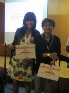 Mahasiswa FISIP UAJY meraih medali Emas  dalam ajang Pekan Komunikasi UI tahun 2012